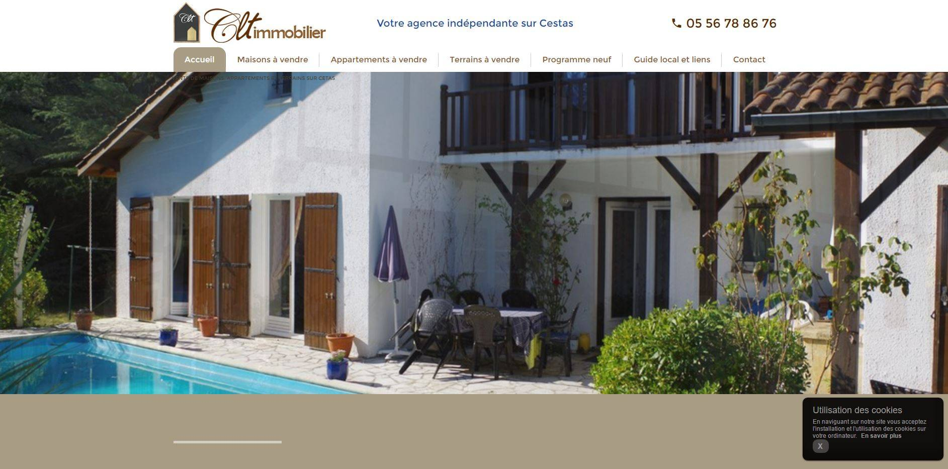 Clt immobilier agence immobili re cestas agences for Clt immobilier cestas