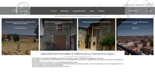 Villas et appartements en vente sur villefranche sur sa ne for Agence immobiliere villefranche sur saone
