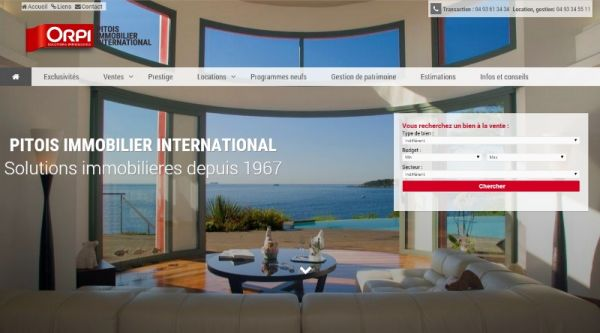 Agence immobilière Antibes